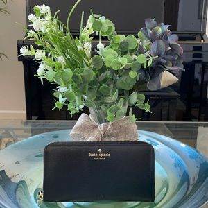 Beautiful black Kate Spade wallet